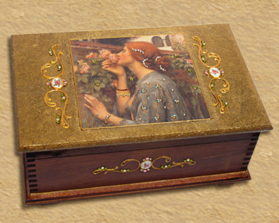 Romantic design jewelry box B5