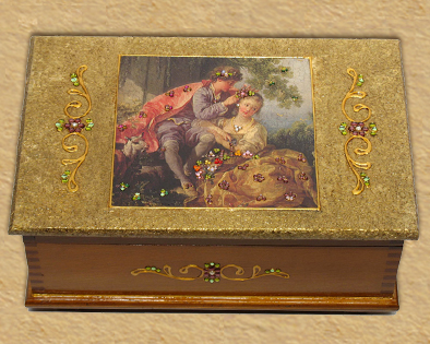 Lovers - Romantic design jewelry box