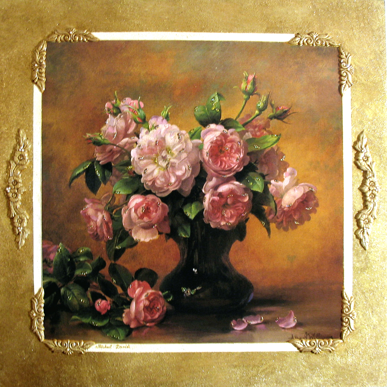 Roses Wall mounted picture M21