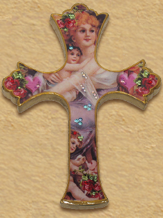 Decorative Victorian cross H